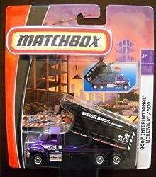 Matchbox Real Working Rigs 2007 International Workstar 7500 (Weise Bros. Hauling)