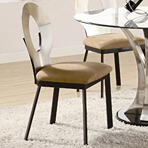 CUSHION LIKE CHAIR ON METAL LEGS Chair Pads Cushions