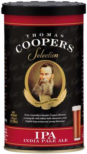 Complete Coopers Brewery IPA Beer Kit Package