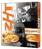 "Zildjian ZHT4 Rock Promo Cymbal Box Set with Bonus 18"" Crash"