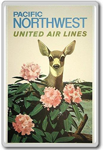 pacific-northwest-united-airlines-vintage-travel-fridge-magnet-calamita-da-frigo