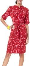 Lennie Polka Dot Button Placket Dress
