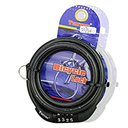 4 Dial Tube Cable Bike Lock