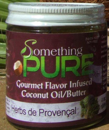 Something Pure (Herbs De Provencal Coconut Oil, 4Oz)