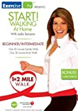 51u7P1dbtxL. SL160  Start! Walking At Home with Leslie Sansone:  Beginner/Intermediate   1 & 2 Mile Walk