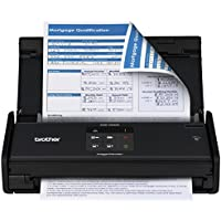 Brother ImageCenter ADS1000W Wireless Duplex Flatbed Scanner (Black) - Factory Reconditioned