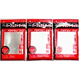 KMC 100 pochettes Card Barrier Perfect Size Soft Sleeves, 3 Packs/Total 300 pochettes [Komainu-Dou Original Package]