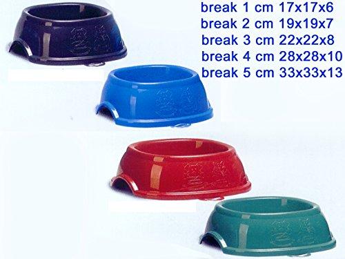 Pet Ciotola Break 1 Cm. 17X17X6