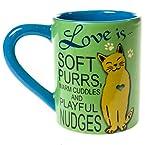 Cat Stoneware Mug