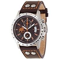 [ハンティングワールド]Huntingworld 腕時計 アンセクト ブラウン 茶革 クォーツ メンズ HW916BRBR メンズ 【正規輸入品】