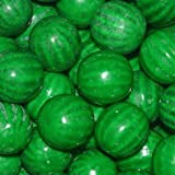 Dubble Bubble Watermelon 24mm Gumballs 1 Inch, 1 Pound Approximately 55 Gum Balls.