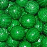 Dubble Bubble Watermelon 24mm Gumballs 1 Inch, 1 Pound Approximately 55 Gum Balls.