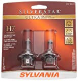 Sylvania H7 SU SilverStar Ultra Halogen Headlight Bulb, (Pack of 2)