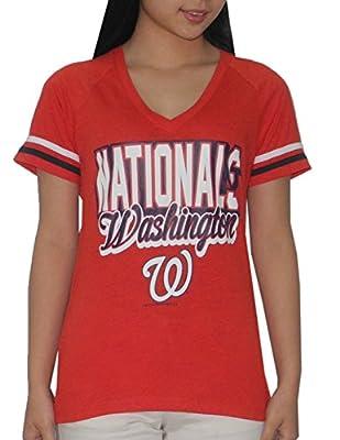 WASHINGTON NATIONALS Womens MLB Short Sleeve T-Shirt