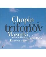 Concerto pour piano N°1, Etudes, Nocturnes, Mazurka, Sonate op. 58