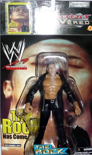 the ROCK - WWE Wrestling Superstars Uncovered Figure by Jakks