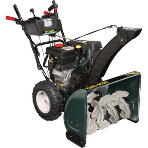 Yard-Man 31AH65LG701 28-Inch 357cc Gas Powered Two Stage Self Propelled Snow Thrower With Electric Start