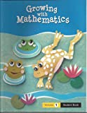 img - for WRIG 08 GROWING WITH MATHEMATICS VOL 1 book / textbook / text book