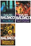 David Baldacci David Baldacci books: 3 books (Hells Corner / Deliver Us From Evil / True Blue rrp £23.97)