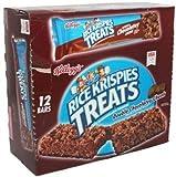 Rice Krispies Treats Marshmallow squares Double Chocolates Chunk 12- 3oz bars by Kellogg's