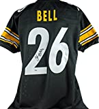 Steelers Le'Veon Bell Authentic Signed Black Jersey Autographed PSA/DNA
