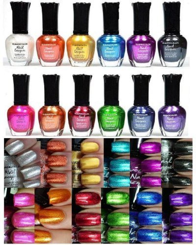 Kleancolor-Nail-Polish-Awesome-Metallic-Full-Size-Lacquer-Set-of-12-Pieces