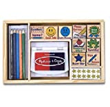Melissa & Doug Deluxe Classroom Stamp Set