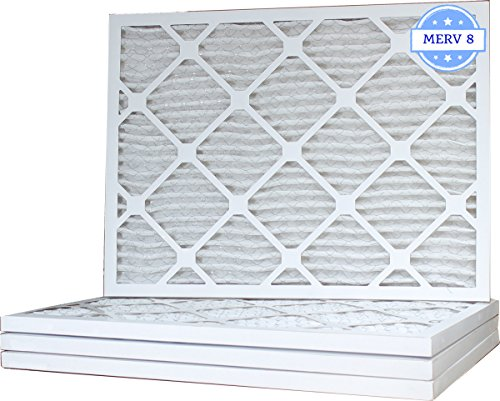 16 3/8 x 21 1/2 x 1 Air Filter, Pleated, MERV 8 (Case of 4) Fits Listed Models of Carrier, Bryant & Payne