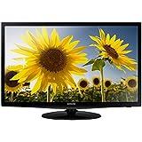 Samsung T24D310ES 61 cm (24 Zoll) LED-Monitor (HDMI, USB, SCART, 5ms Reaktionszeit) schwarz-glänzend
