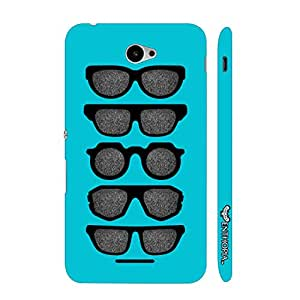 Sony Xperia E4 Cool Spectacles designer mobile hard shell case by Enthopia