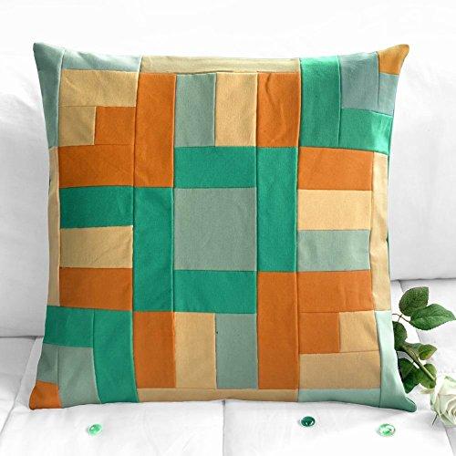 [Home decor] kreative Patchwork Kissen Schlafsofa dekorative Kissen, 48 * 48cm -