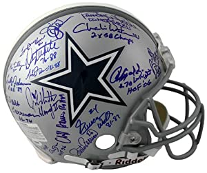 Dallas Cowboy Greats Signed Autographed Authentic Full-Size Helmet by Insider Sports Deals