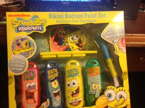 Spongebob Bath Toys