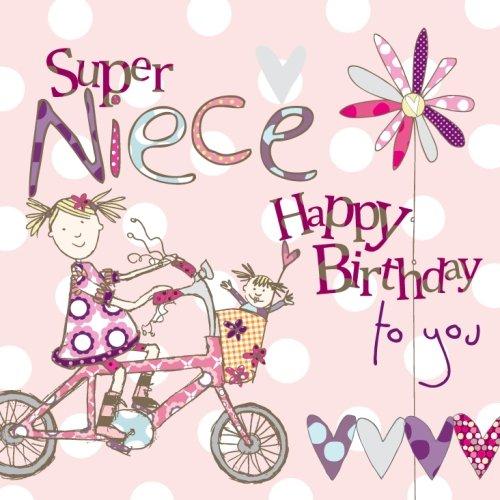 Super Niece Birthday Card