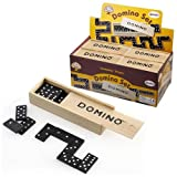 Childrens Dominoes Set in a Wooden Boxby Party Bags 2 Go