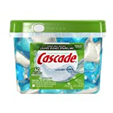 Cascade ActionPacs, Dishwasher Detergent, Fresh Scent, 60-count Container