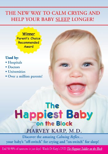 The Happiest Baby on the Block - The New Way to Calm Crying and Help Your Baby Sleep Longer (DVD)
