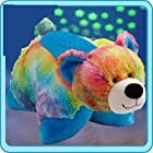 PILLOW PETS 11 DREAM LITES TIE DYE PEACE BEAR PLUSH NIGHT-LITE