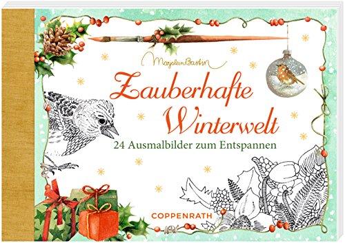 Kreativbuch zauberhafte winterwelt ausmalbilder zum