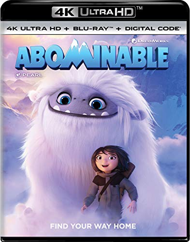 4K Blu-ray : Abominable (2 Discos)