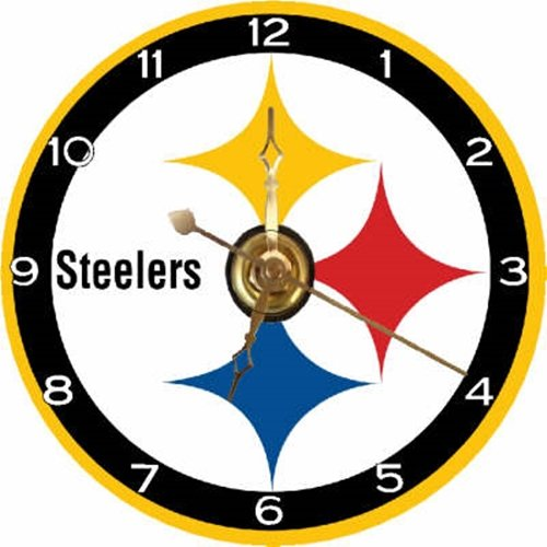 Pittsburgh Steelers Clock Steelers Clock Steelers Clocks