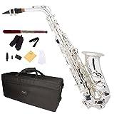 Mendini by Cecilio MAS-30S Saxophone Alto MiB Argenté