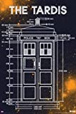 Doctor Who - Tardis Blueprint Measurements 24x36 Television Poster Police Call Box