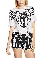 Love Moschino Camiseta Manga Corta (Blanco)
