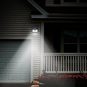 Mpow 8 LED ソーラーライト