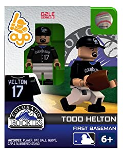 Todd Helton 2013 Generation 2 Oyo Mini Figure Colorado Rockies by OYO
