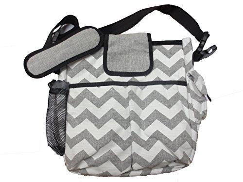 best chevron messenger diaper bag for mom or dad. Black Bedroom Furniture Sets. Home Design Ideas