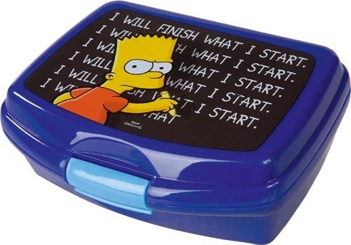 Unitedlabels - 0199472 - Brotdose - Lunchbox Bart Simpsons - The Simpsons