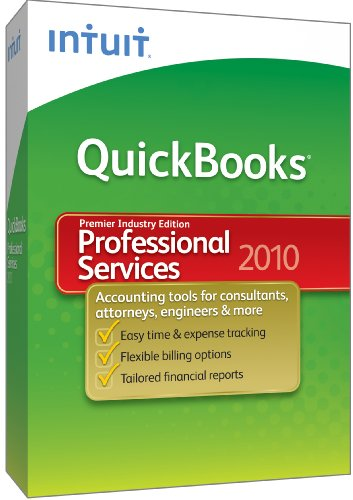 Quickbooks Premier Professional Services 2010 [Old Version]