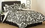 Zeus Queen Comforter Set CS2796BWQN-1319